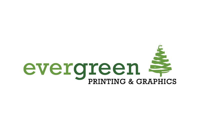 Logo design for Evergreen Printing