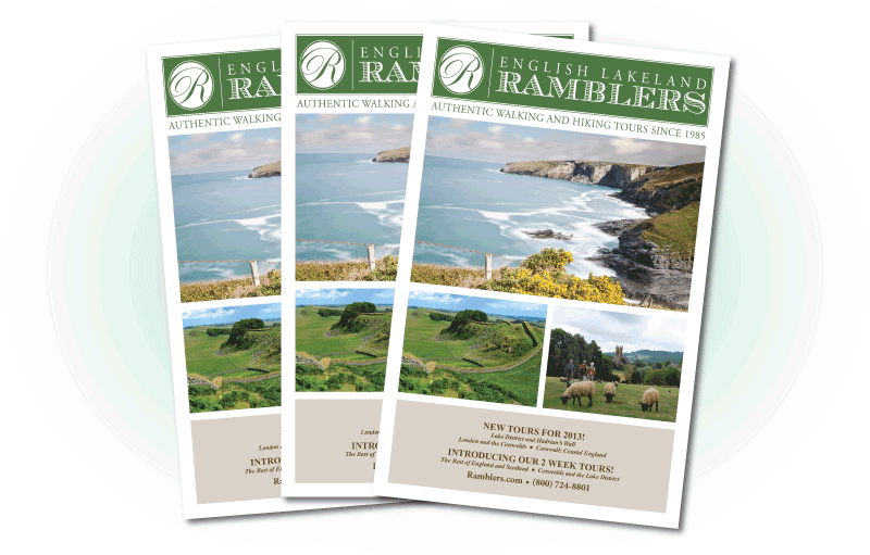 Brochure for Ramblers.com